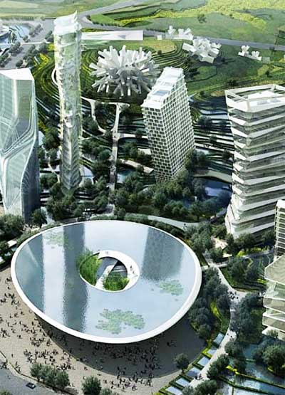 Future Cities Smart Grid Meets Green Technology Future