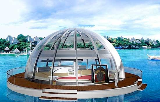 Future Solar Home on Water